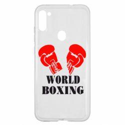 Чехол для Samsung A11/M11 World Boxing