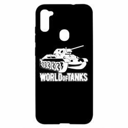 Чохол для Samsung A11/M11 World Of Tanks Game