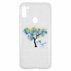 Чохол для Samsung A11/M11 Я люблю Україну і дерево