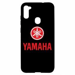 Чехол для Samsung A11/M11 Yamaha Logo(R+W)