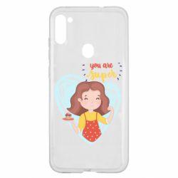 Чохол для Samsung A11/M11 You are super girl