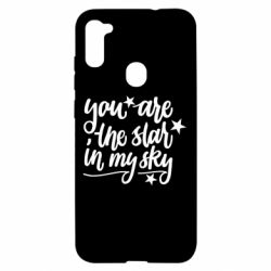 Чехол для Samsung A11/M11 You are the star in my sky