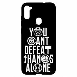 Чехол для Samsung A11/M11 You can't defeat thanos alone