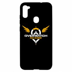 Чехол для Samsung A11/M11 Your Nickname in the game Overwatch
