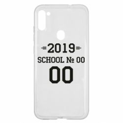 Чехол для Samsung A11/M11 Your School number and class number