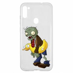 Чехол для Samsung A11/M11 Zombie with a duck