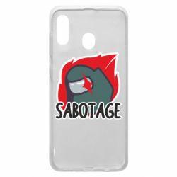 Чохол для Samsung A20 Among Us Sabotage
