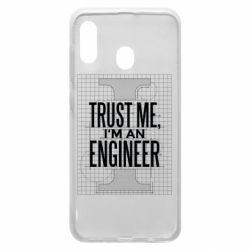 Чохол для Samsung A20 Довірся мені я інженер