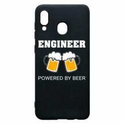 Чохол для Samsung A20 Engineer Powered By Beer