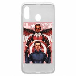 Чохол для Samsung A20 Falcon and the Winter Soldier Art