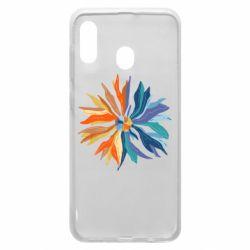 Чохол для Samsung A20 Flower coat of arms of Ukraine