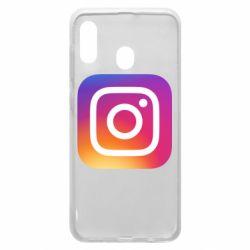 Чохол для Samsung A20 Instagram Logo Gradient