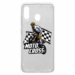 Чехол для Samsung A20 Motocross