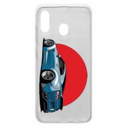 Чехол для Samsung A20 Nissan GR-R Japan