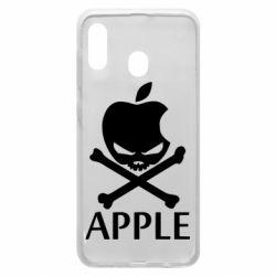 Чехол для Samsung A20 Pirate Apple