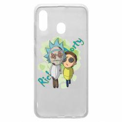 Чохол для Samsung A20 Rick and Morty voodoo doll