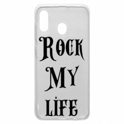 Чехол для Samsung A20 Rock my life