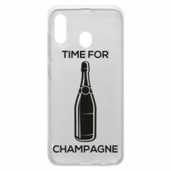 Чохол для Samsung A20 Time for champagne