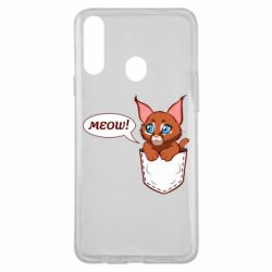 Чохол для Samsung A20s A cat in his pocket
