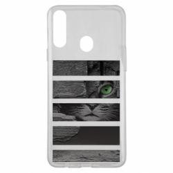 Чехол для Samsung A20s All seeing cat