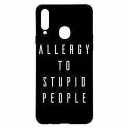 Чохол для Samsung A20s Allergy To Stupid People