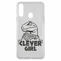 Чохол для Samsung A20s Allosaurus clever girl