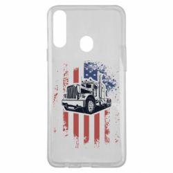 Чохол для Samsung A20s American Truck