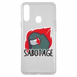 Чохол для Samsung A20s Among Us Sabotage