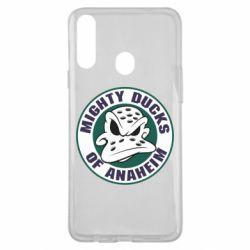 Чехол для Samsung A20s Anaheim Mighty Ducks Logo