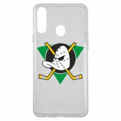 Чехол для Samsung A20s Anaheim Mighty Ducks