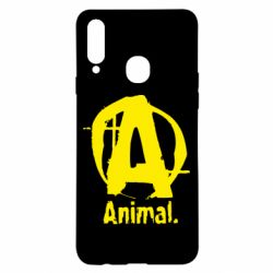 Чохол для Samsung A20s Animal