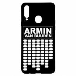 Чехол для Samsung A20s Armin Van Buuren Trance