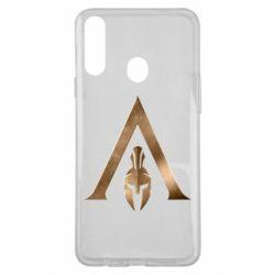 Чохол для Samsung A20s Assassin's Creed: Odyssey logo