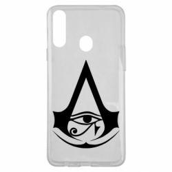 Чохол для Samsung A20s Assassin's Creed Origins logo