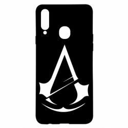 Чохол для Samsung A20s Assassins Creed Logo