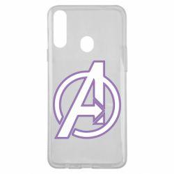 Чехол для Samsung A20s Avengers and simple logo