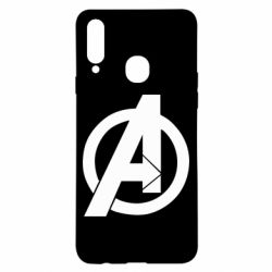 Чохол для Samsung A20s Avengers logo
