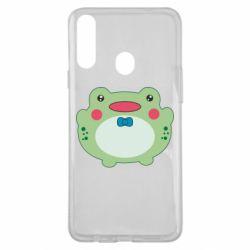 Чохол для Samsung A20s Baby frog