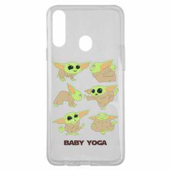 Чехол для Samsung A20s Baby Yoga