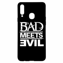 Чехол для Samsung A20s Bad Meets Evil