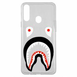 Чехол для Samsung A20s Bape shark logo