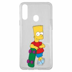 Чохол для Samsung A20s Bart Simpson