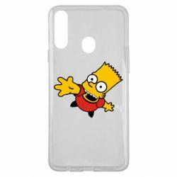 Чехол для Samsung A20s Барт Симпсон