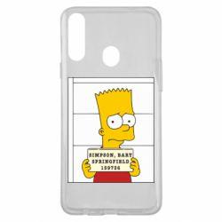 Чехол для Samsung A20s Барт в тюряге