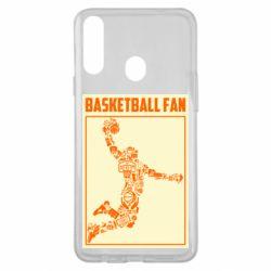Чохол для Samsung A20s Basketball fan