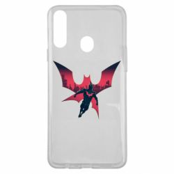 Чехол для Samsung A20s Batman beyond and city