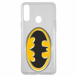 Чехол для Samsung A20s Batman Gold Logo
