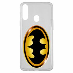 Чохол для Samsung A20s Batman logo Gold