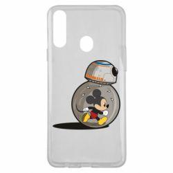 Чохол для Samsung A20s BB-8 and Mickey Mouse