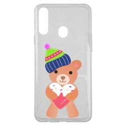 Чехол для Samsung A20s Bear and gingerbread